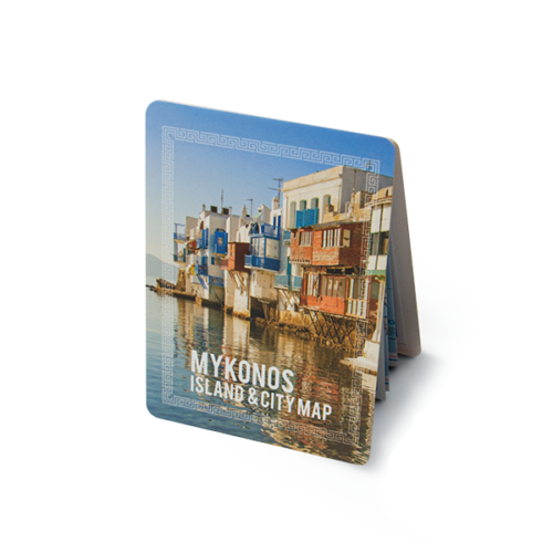Mykonos Map Basic Covers
