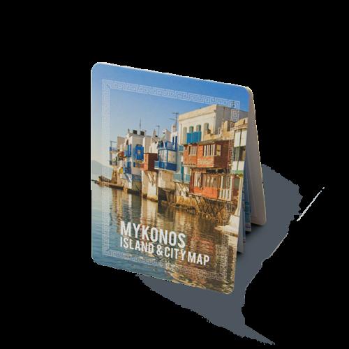 Mykonos Map Basic Covers