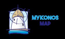 Mykonos Map – by MasterFold S.A Λογότυπο